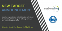 New Target Announcement. WRDSB